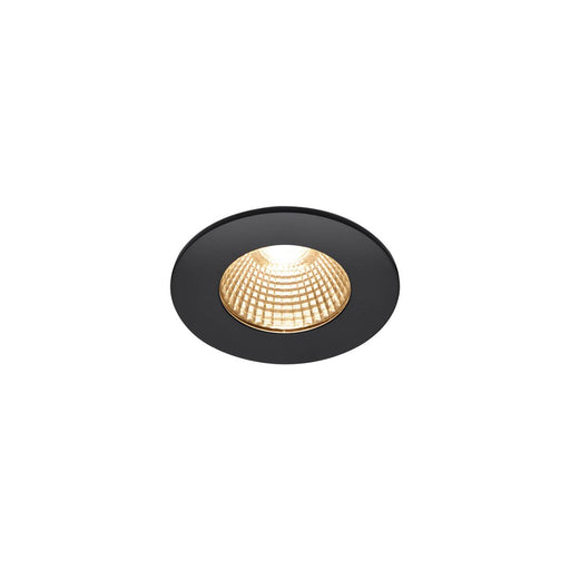 SLV SLV 1002098 PATTA-I, LED outdoor recessed ceiling light, round DL IP65 black 1800-3000K 4024163222853 1002098