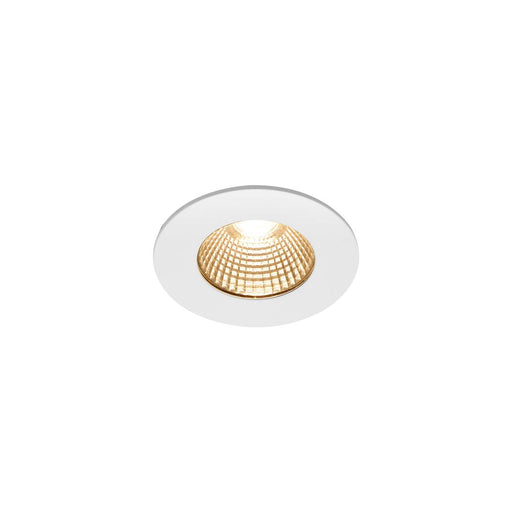 SLV SLV 1002099 PATTA-I, LED outdoor recessed ceiling light, round DL IP65 white 1800-3000K 4024163222860 1002099