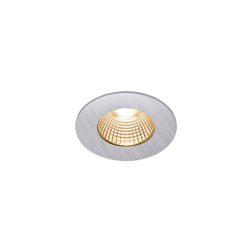 SLV SLV 1002100 PATTA-I, LED Outdoor recessed ceiling light, round DL IP65 silver 1800-3000K 4024163222877 1002100