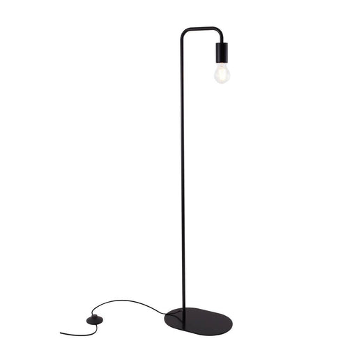 FITU WL, indoor floor stand, E27, black, max. 24W