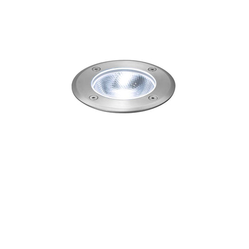 ROCCI Round, outdoor LED inground fitting, stainless steel 316, 4000K, IP67, 8.6W