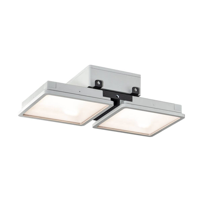 SLV SLV 1002193 ALMINO PD, double, LED pendant, grey IP65 4000K 4024163223744 1002193
