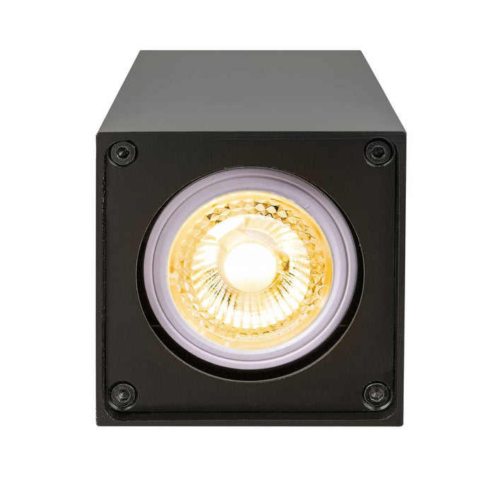 SLV SLV 1002216 ALTRA DICE CL, Indoor surface-mounted wall and ceiling light, GU10, black 4024163223973 1002216
