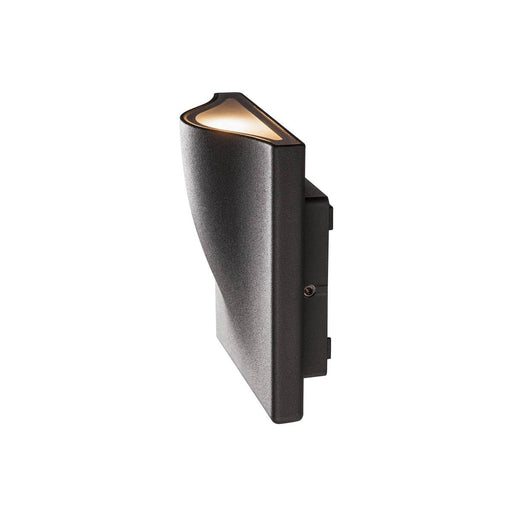 VILUA I WL Outdoor recessed wall light, anthracite, 3000K IP54 100° 405lm