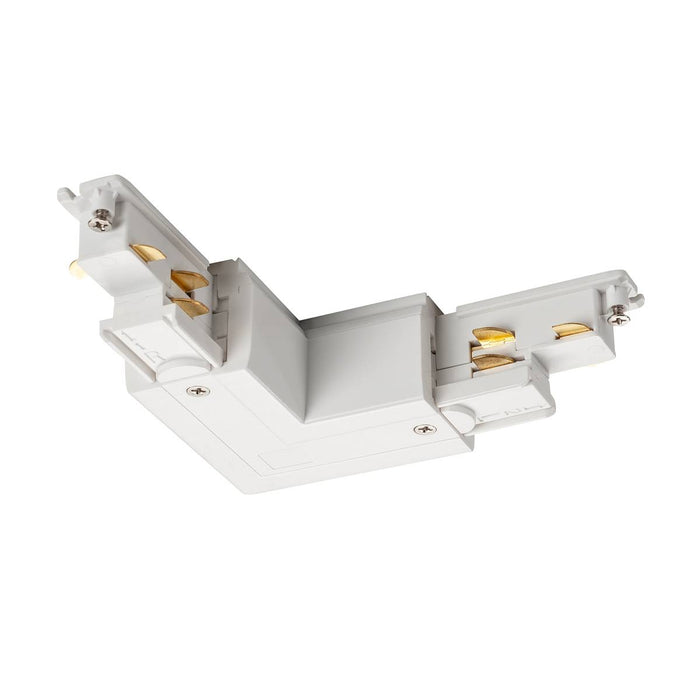 SLV SLV 1002649 S-TRACK DALI L-connector with internal earth electrode, white 4024163228657 1002649