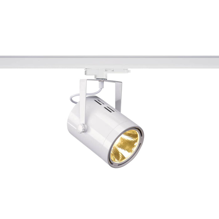EURO SPOT TRACK DALI, for 240V 3-circuit track, LED, 3000K, white, 38°, incl. 3-circuit adapter