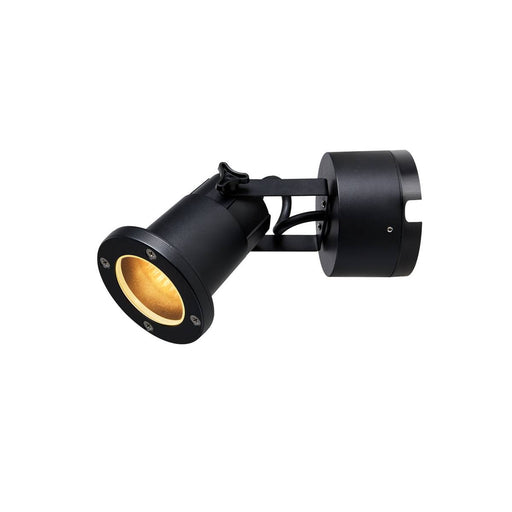 SLV SLV 1002867 NAUTILUS WL GU10 Outdoor surface-mounted wall light black 4024163230636 1002867