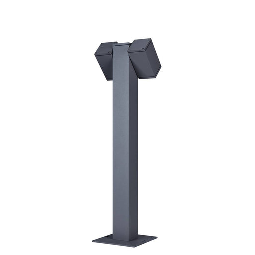 THEO PATHLIGHT double QPAR51 Outdoor floor stand anthracite
