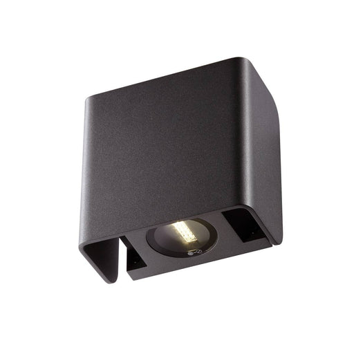 MANA OUT Outdoor recessed wall light anthracite 3000K IP65 dimmable