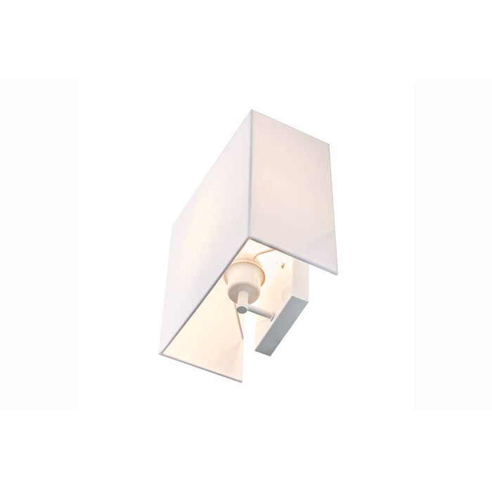 ACCANTO SQUARE E27 Indoor surface-mounted wall light white
