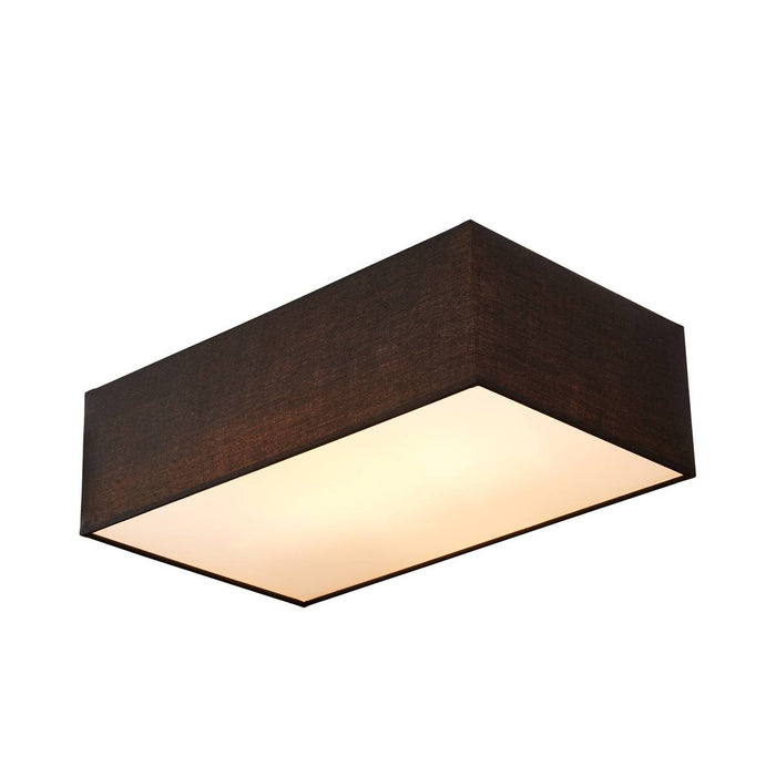 ACCANTO SQUARE E27 Indoor surface-mounted ceiling light black
