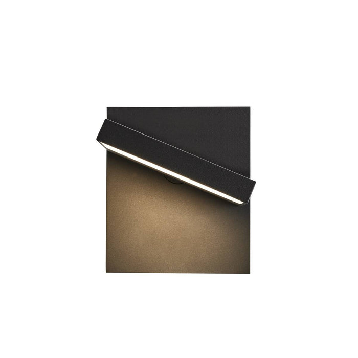SLV SLV 1002989 ABRIDOR Outdoor LED surface-mounted wall light IP55 anthracite 3000/4000K 4024163231800 1002989