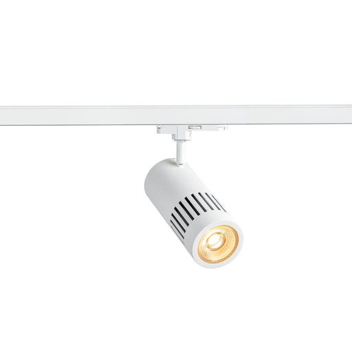 3 Circuit STRUCTEC DALI 3-circuit system luminaire white 3000K 36° incl. 3-circuit adapter