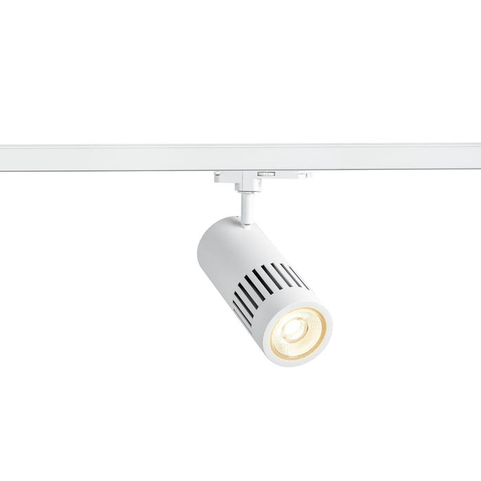 SLV SLV 1003027 3 Circuit STRUCTEC DALI 3-Circuit system luminaire white 4000K 36° incl. 3-Circuit adapter 4024163232173 1003027
