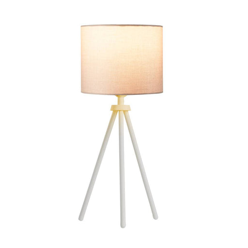 SLV SLV 1003032 FENDA table lamp base II E27 Indoor table lamp in white without shade 4024163232227 1003032