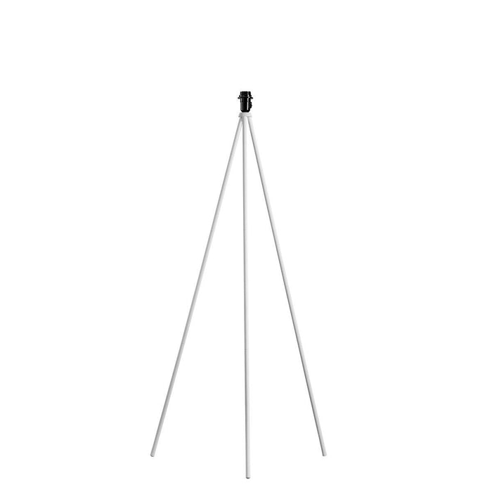 FENDA floor stand base II E27 Indoor floor stand in white without shade