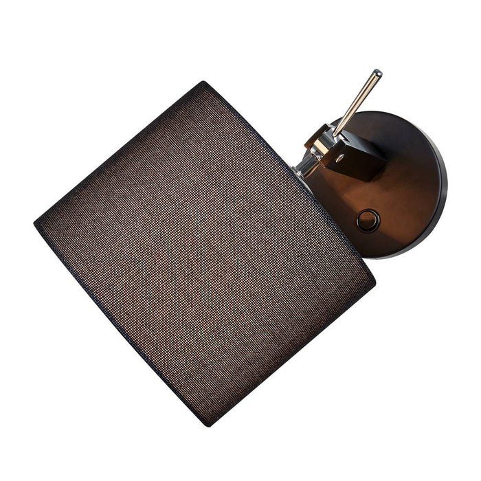 SLV SLV 1003034 FENDA E27 Indoor surface-mounted wall light in black without shade 4024163232241 1003034