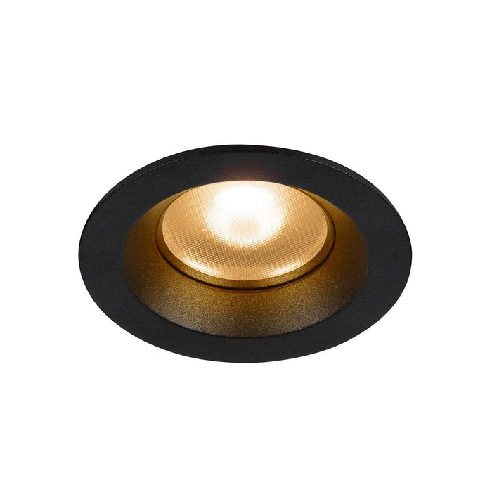 SLV SLV 1003036 DINGILO Indoor LED recessed ceiling light in black 2700K tiltable 4024163232265 1003036