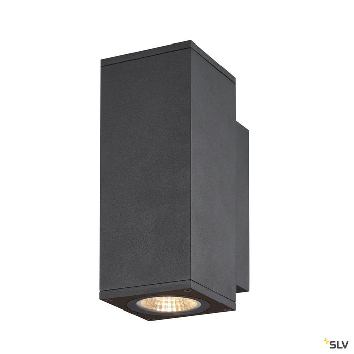 Enola Square Up/down S Outdoor Led Surface-mounted Wall Light Anthracite Cct 3000/4000k