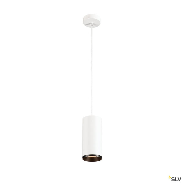 Numinos Pd Phase L, Indoor Led Pendant Light White/black 2700k 24°