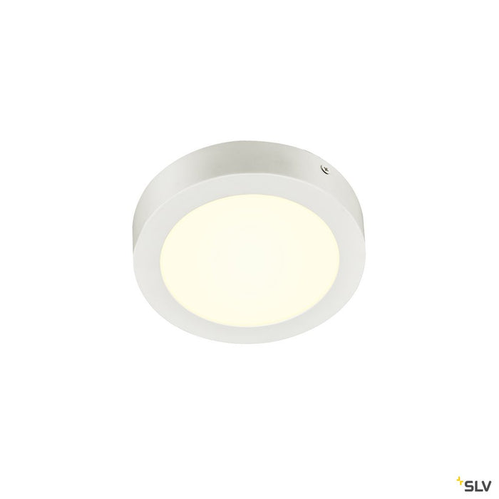 Senser 18 Cw, Indoor Led Wall And Ceiling-mounted Light Round White 4000k