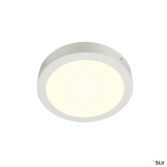Senser 24 Cw, Indoor Led Wall And Ceiling-mounted Light Round White 4000k