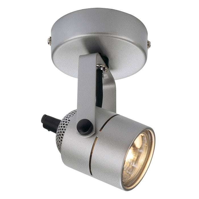 SLV SLV 132024 SPOT 79 230V wall and ceiling light, silver-grey, GU10, max. 50W 4024163103428 132024