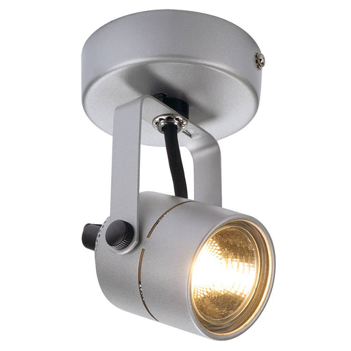 SPOT 79 230V wall and ceiling light, silver-grey, GU10, max. 50W