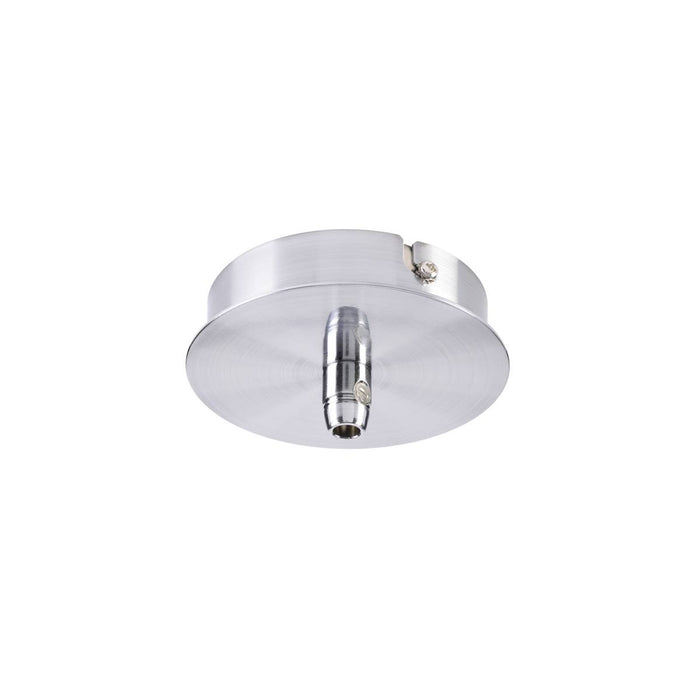 SLV SLV 132605 FITU ceiling canopy, single, round, chrome, incl. strain-relief, 16A max. 4024163157056 132605
