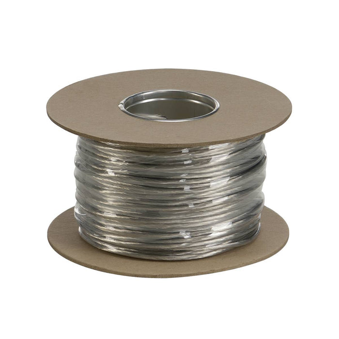 SLV SLV 139004 Tenseo Chrome Low-voltage wire, insulated, 4mm², 100m 4024163023801 139004