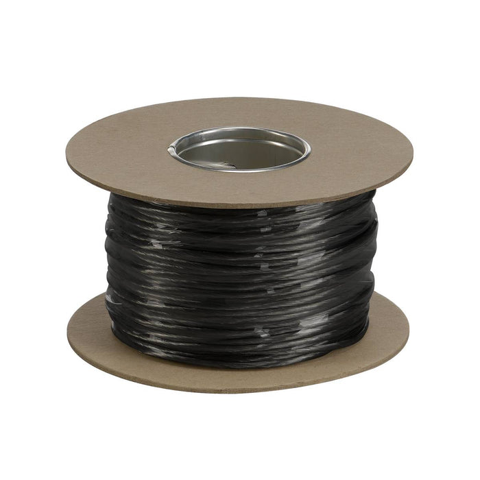 LOW-VOLTAGE CABLE, for TENSEO low-voltage cable system, black, 4mm², 100m