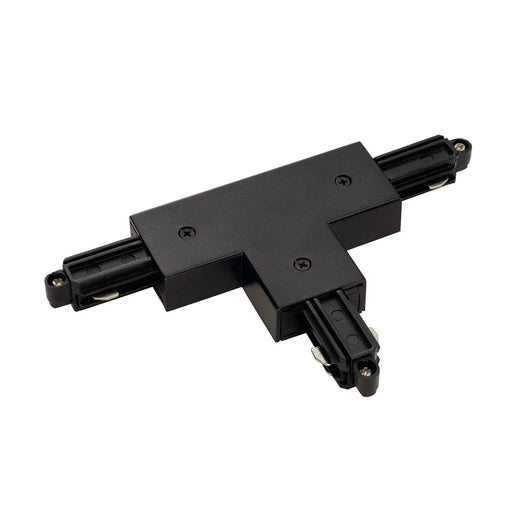 SLV SLV 143070 T-connector for 1-Circuit track, surface-mounted, black, earth left 4024163142632 143070
