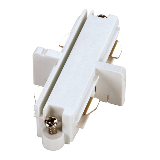 SLV SLV 143091 Direct connector for 1-Circuit track, white, electrical 4024163092968 143091