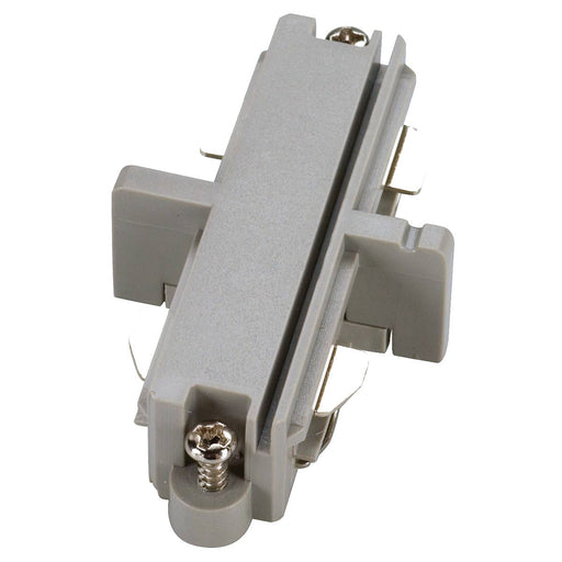 SLV SLV 143092 Direct connector for 1-Circuit track, silver-grey, electrical 4024163092975 143092