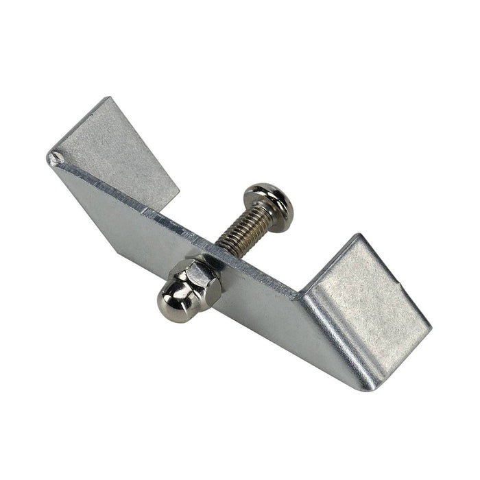 SLV SLV 143230 Retaining bracket for 1-Circuit track, recessed version, nickel matt, 1 pce. 4024163127455 143230