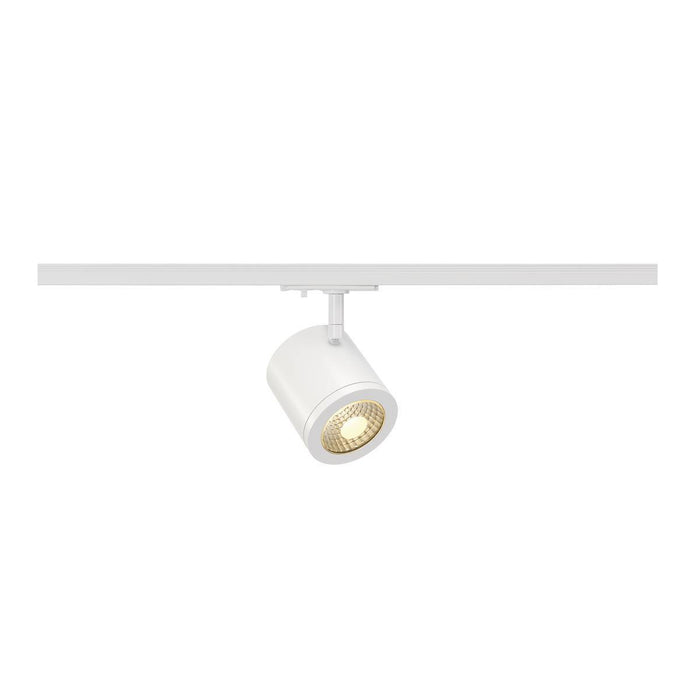 SLV SLV 143941 ENOLA_C SPOT, round, white, 9W LED, 3000K, 35°, incl. 1-Circuit adapter 4024163137423 143941