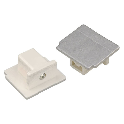 SLV SLV 145594 EUTRAC end cap for 3-Circuit track, silver-grey 4024163122733 145594