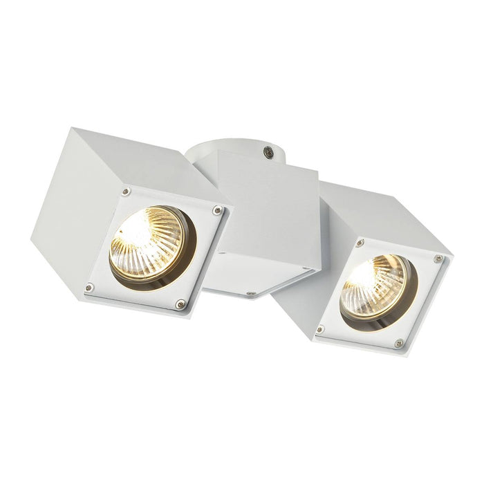 SLV SLV 151531 ALTRA DICE SPOT 2 ceiling light, white, 2x GU10, max. 2x 50W 4024163129763 151531