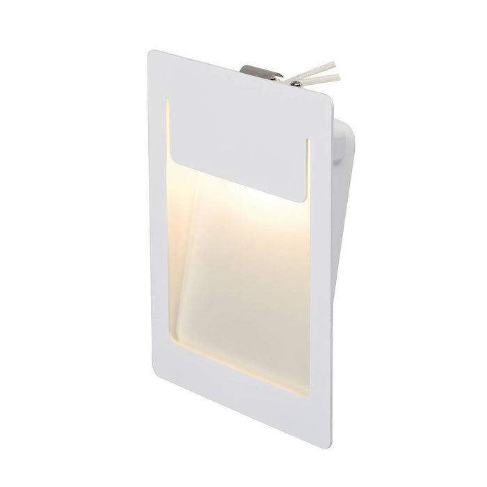 DOWNUNDER PURE recessed, square, white, 5.2W LED, 3000K , 120x155mm