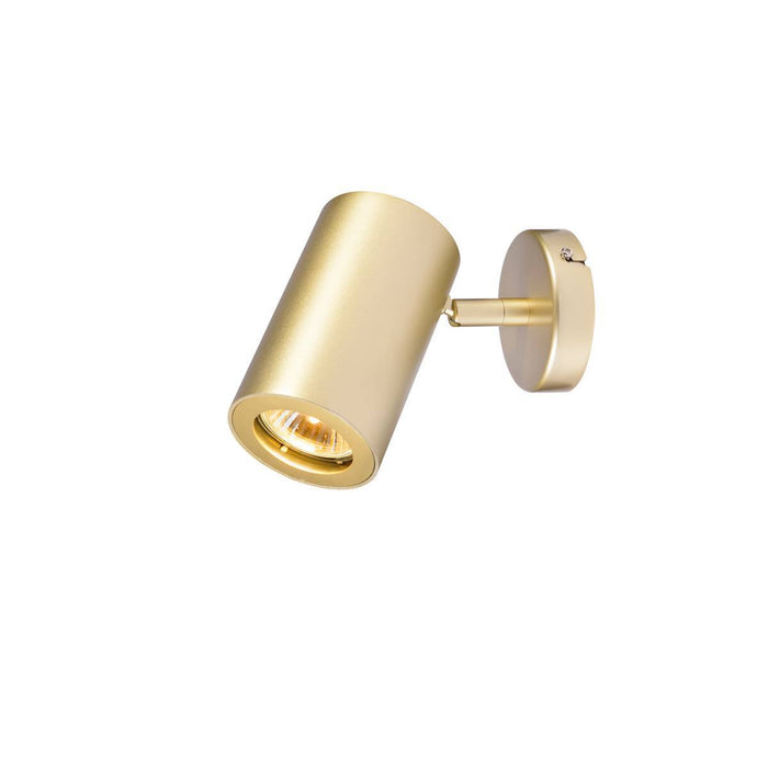 SLV SLV 152013 ENOLA_B wall and ceiling spot, single, brass, GU10, max. 50W 4024163149976 152013