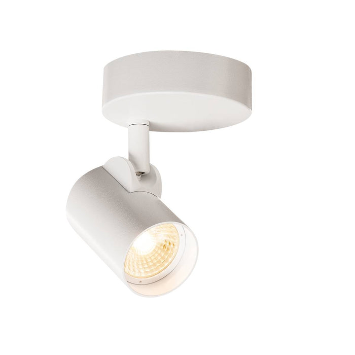 SLV SLV 156501 HELIA LED single wall and ceiling light, 3000K, 35°, white 4024163169424 156501
