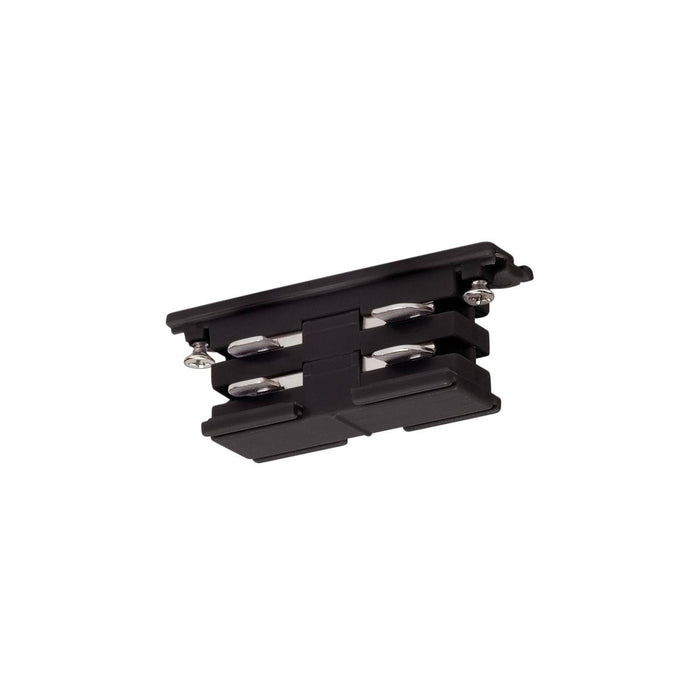 Mini-connector for S-TRACK 3-phase track, electrical, black