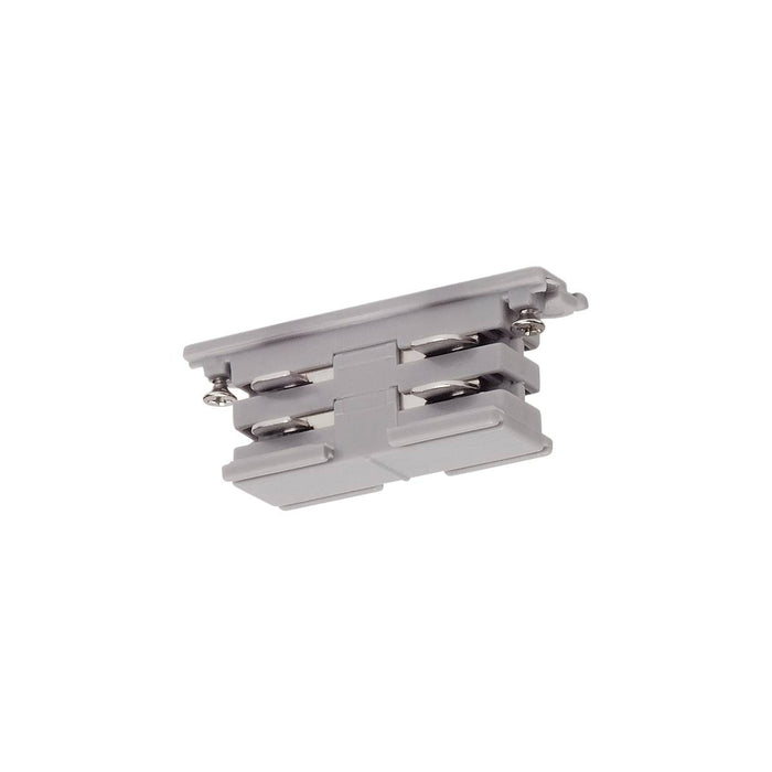 Mini-connector for S-TRACK 3-phase track, electrical, silver-grey