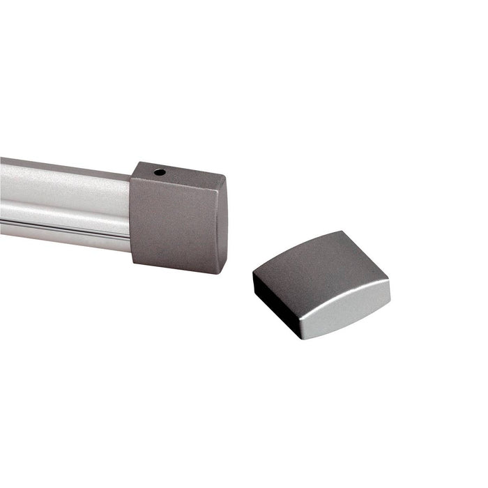 SLV SLV 184142 End cap for EASYTEC II, 2 pieces, silver-grey 4024163088152 184142