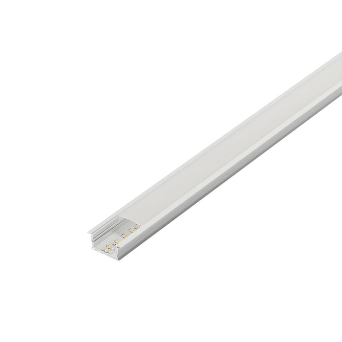 SLV SLV 214351 GLENOS cover 200 for linear profile 2713, 2m, frosted 4024163168953 214351