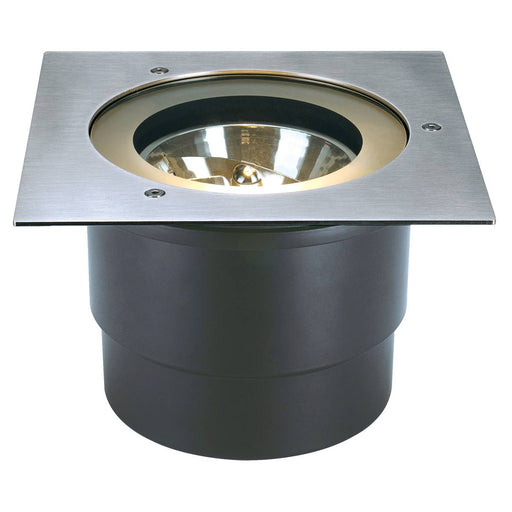 ADJUST QRB111 inground fitting , square, stainless steel 304 , max. 50W, IP67