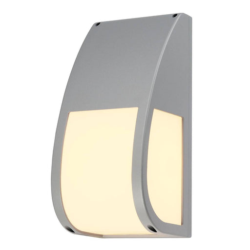SLV SLV 227174 KERAS ELT wall light, silver-grey, E27 Energy Saver, max. 25W, IP54 4024163098588 227174