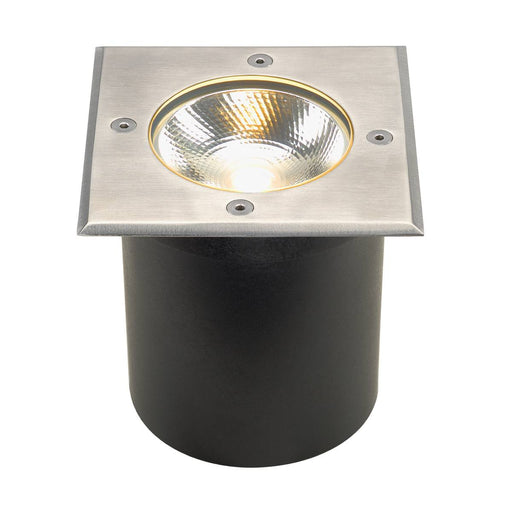ROCCI inground fitting, square , stainless steel 316, 6W COB LED, 3000K, incl. driver