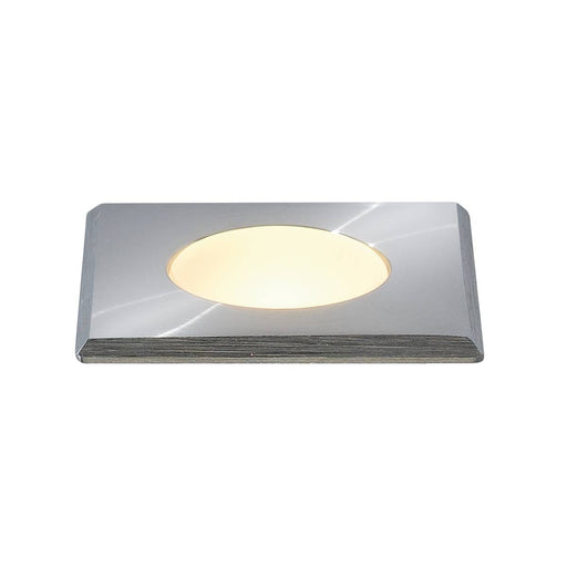 POWER TRAIL-LITE SQUARE, stainless steel 316, 1W LED, 3000K, IP67