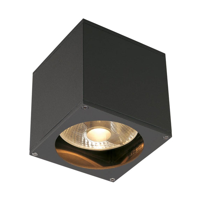 SLV SLV 229565 BIG THEO WALL OUT wall light, square, anthracite, ES111, max. 75W 4024163151894 229565